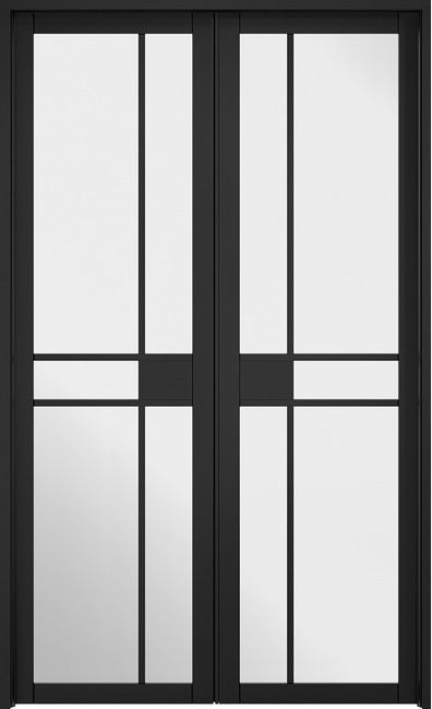 Greenwich W4 Room Divider Primed black