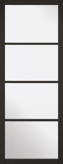 Arnhem 2 Panel White Primed Clear Glass