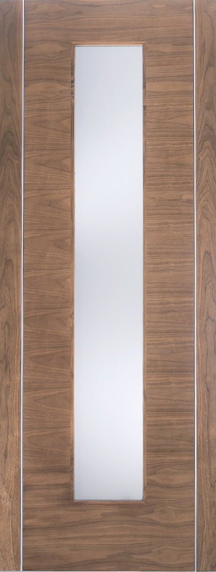 Palermo 1 Light Oak With Clear Glass