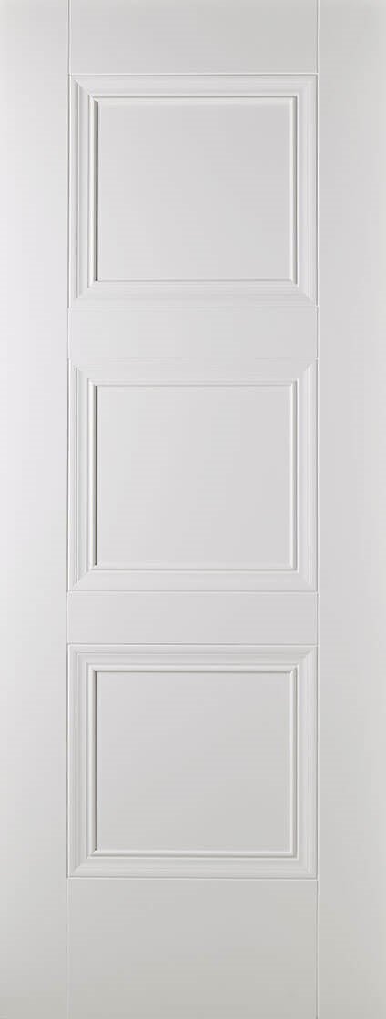 Amsterdam primed white fire door