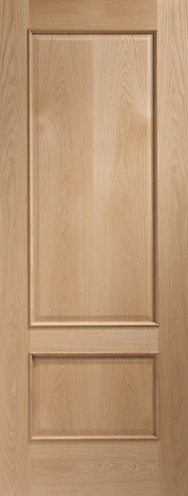 Andria Oak With Raised Mouldings