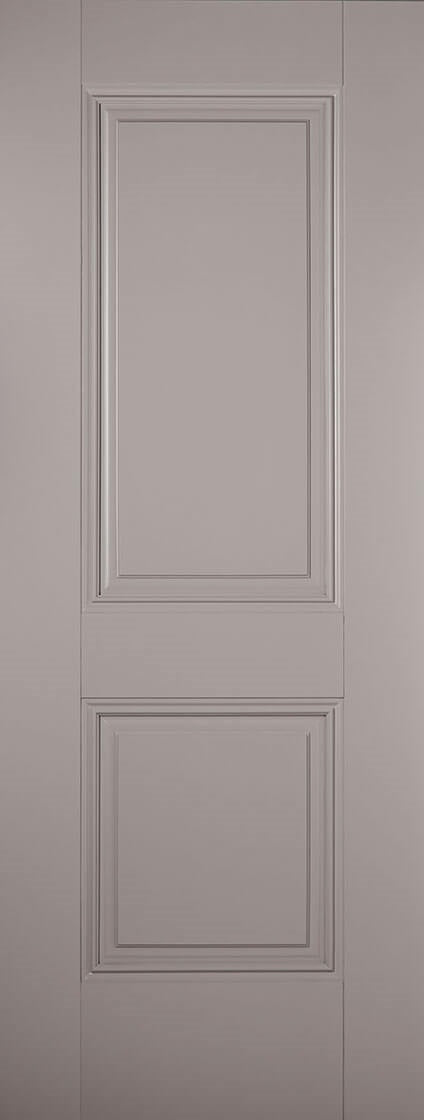 Versailles Black Primed Fire Door