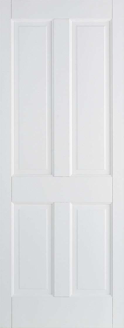 Canterbury 4 Panel Primed white fire door