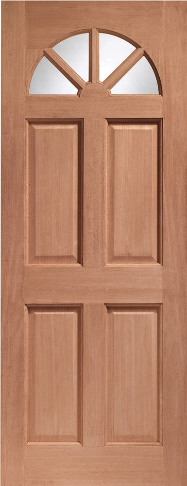 Carolina Unglazed External Hardwood Door Dowelled