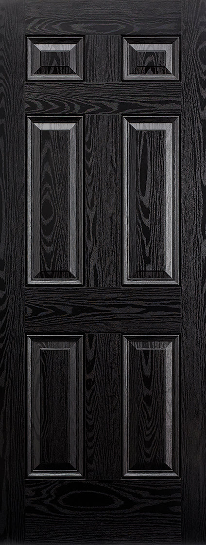 Colonial External black composite door
