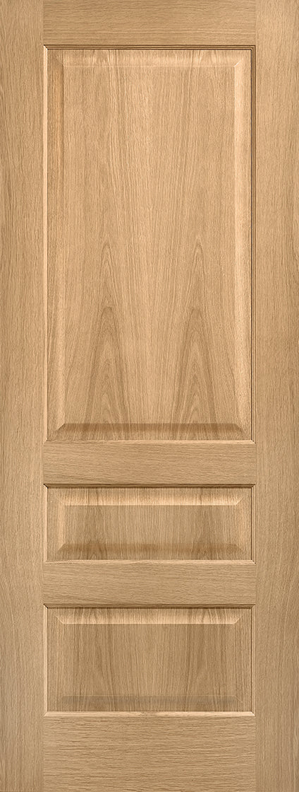 Contemporary 3 panel internal prefinished fire door