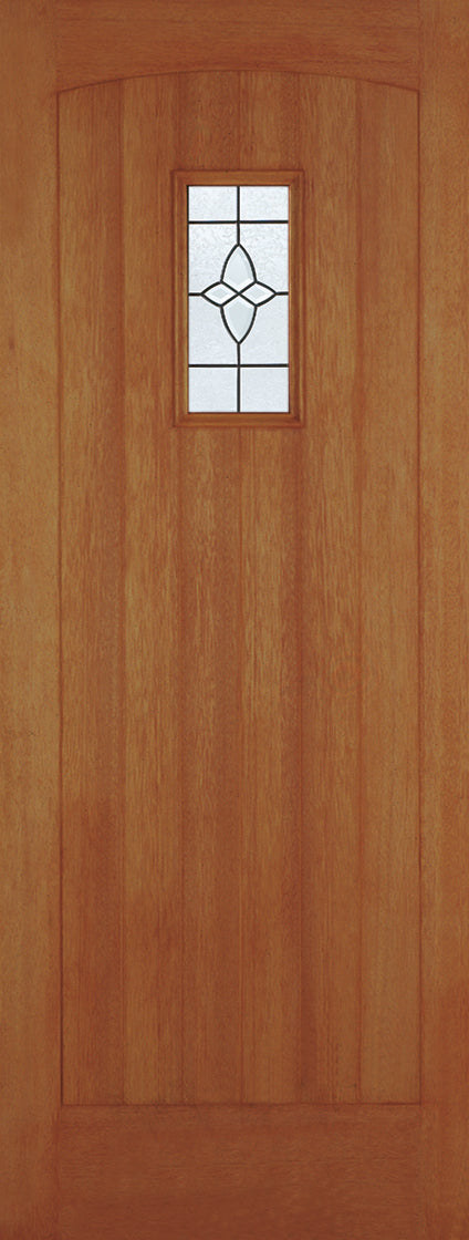 Cottage Stable 4 Light Oak Dowel Clear Double Glazed