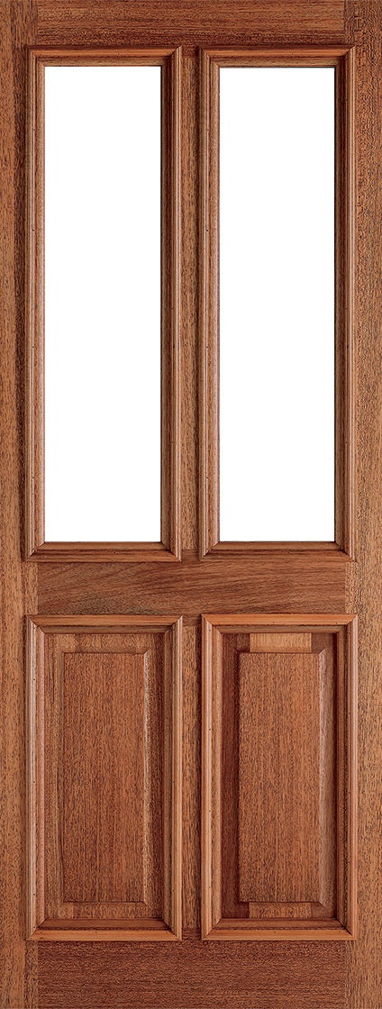 Malton Hardwood Frosted Double Glazed