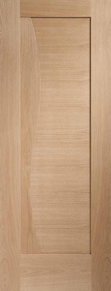 Emelia internal oak panelled door.