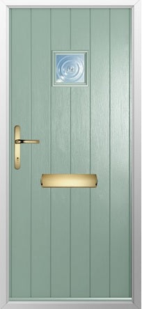 Flint External Composite door & frame.