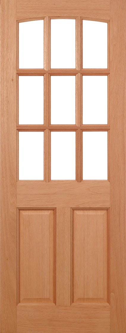 Georgia hardwood  External Door dowelled unglazed
