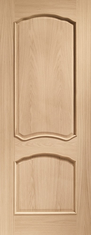 Louis Pre Finished Oak With Raised Mouldings