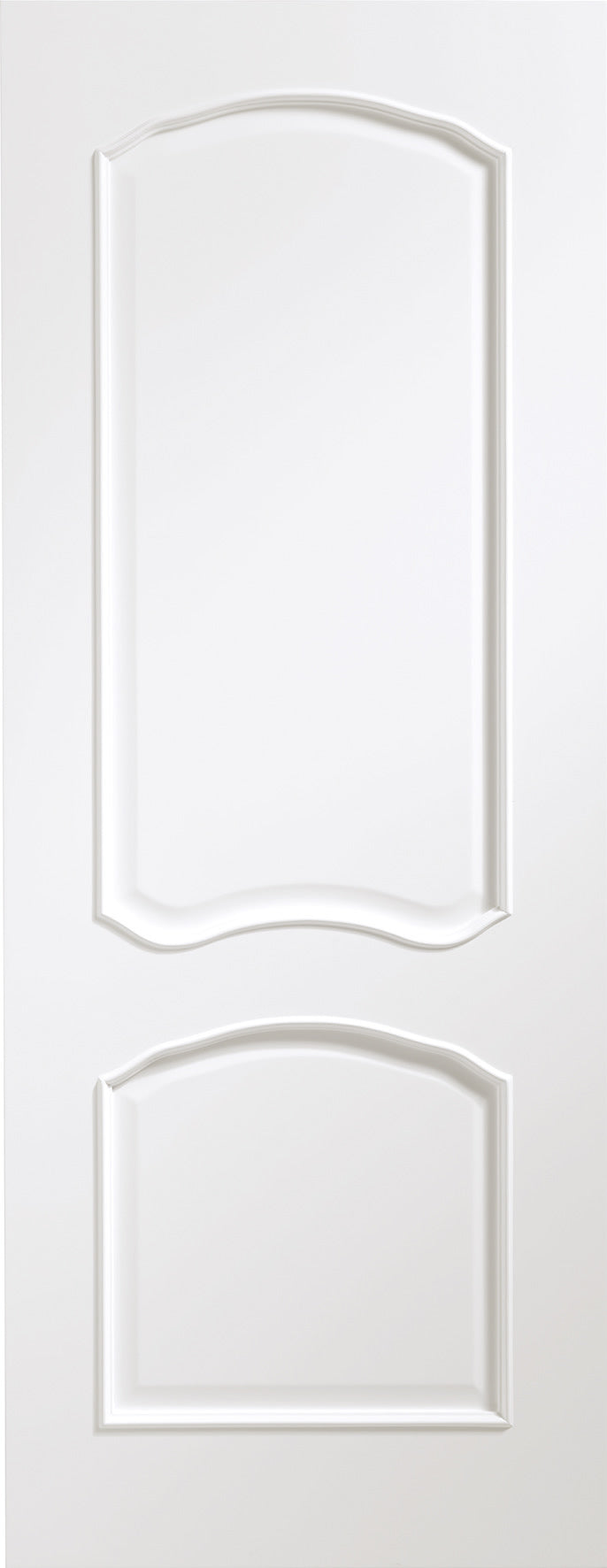 Louis prefinished white internal door.