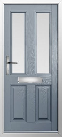 Ludlow 2 glazed external door and frame