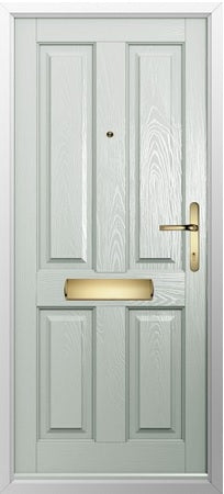 Flint Square Glazed External Composite Door and frame