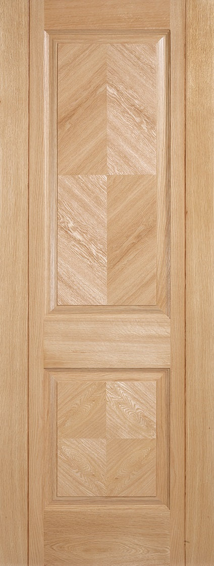 Madrid prefinished internal oak door.
