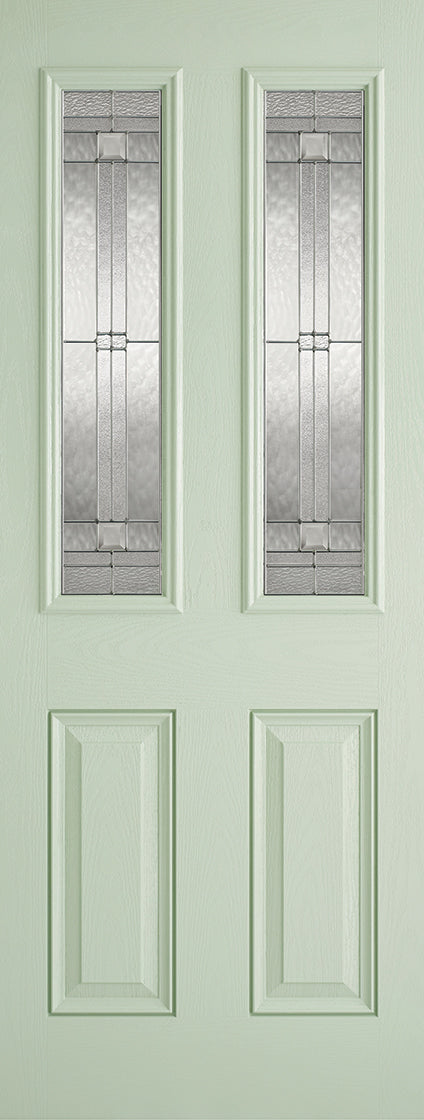 Malton Green External Composite double glazed door