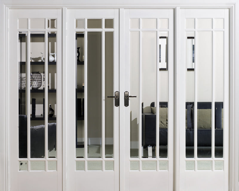 Manhattan W8 white room divider