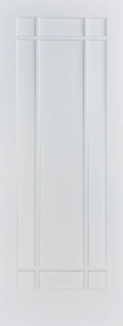 Manhattan white primed internal door.