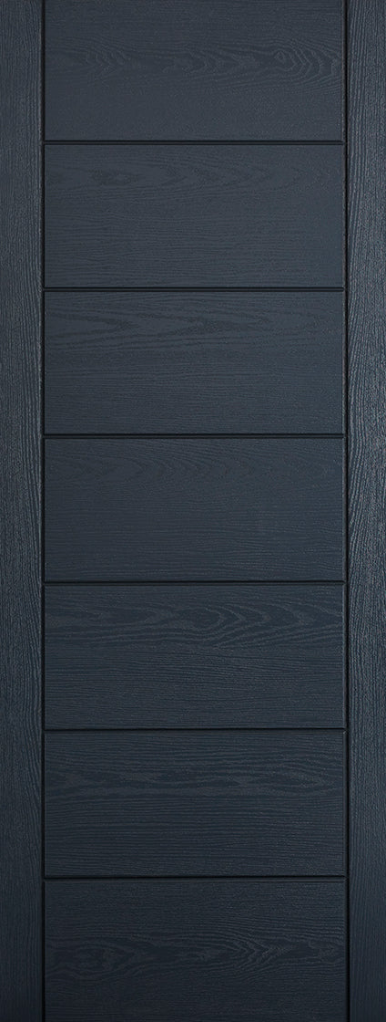 Modica grey External GRP door