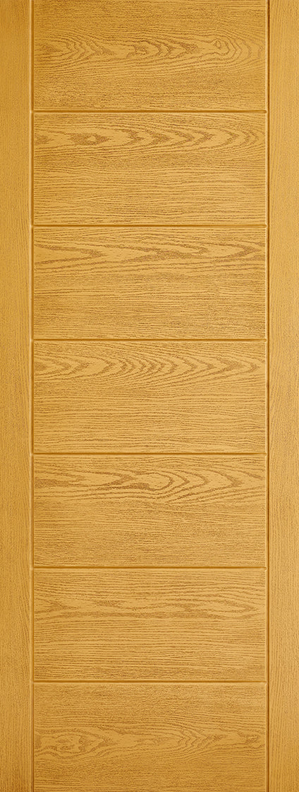 Modica Oak External GRP door