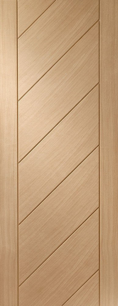 Monza internal oak door, unfinished.