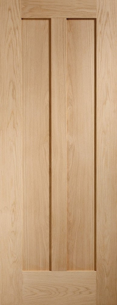 Novaro panelled internal oak door