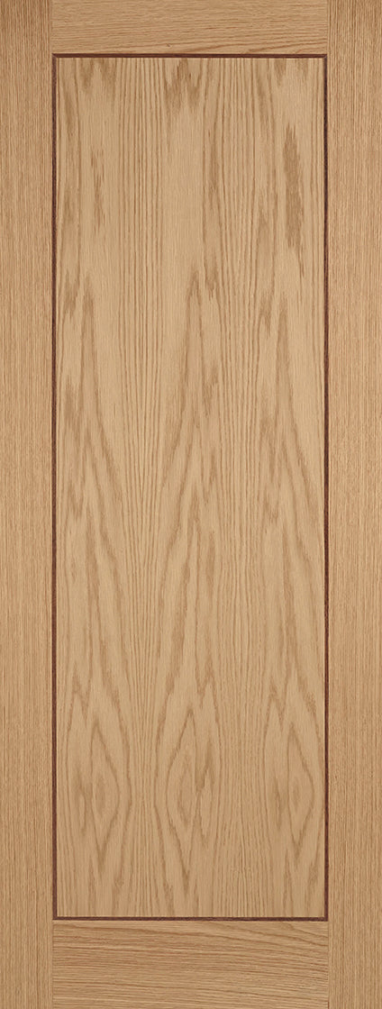 Oak inlay Fire door