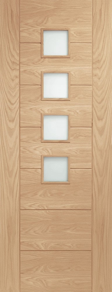 Oak Flush Prefinished Fire Door