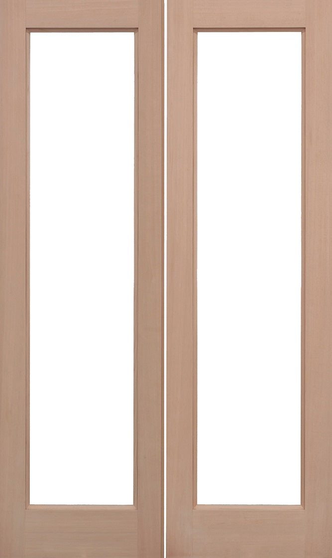 Stable 1 Light External Pine Door Clear Glass Clear Dowelled