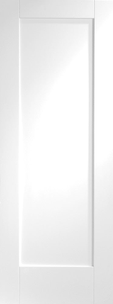 Pattern 10 white primed Fire Door