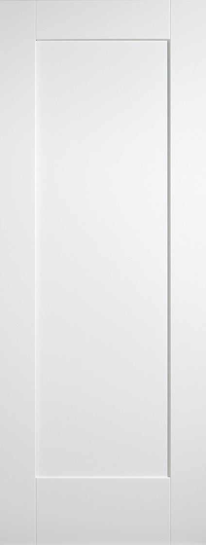 London 4 Panel White Primed Grained Internal Door