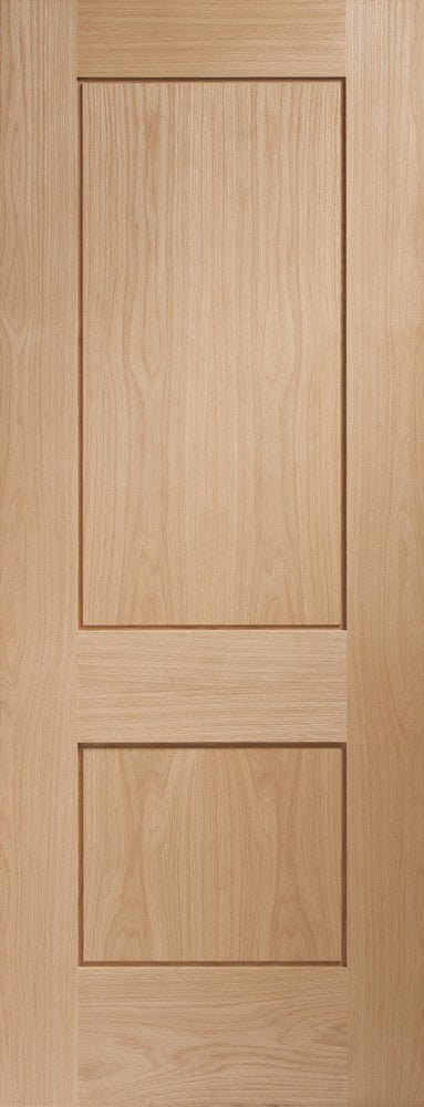 Piancenza internal oak door, unfinished.