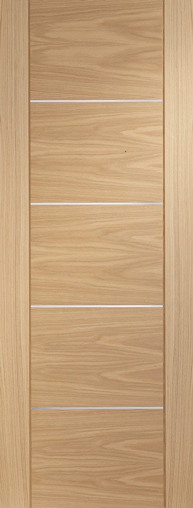 Portici oak prefinished fire door