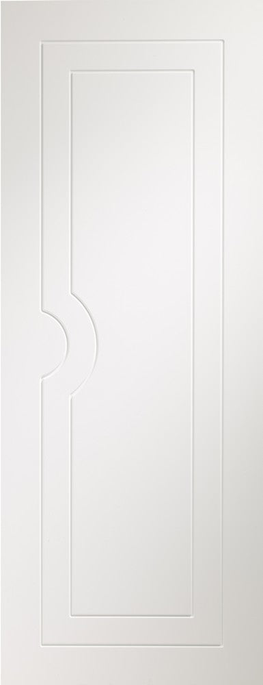 Potenza prefinished white fire door