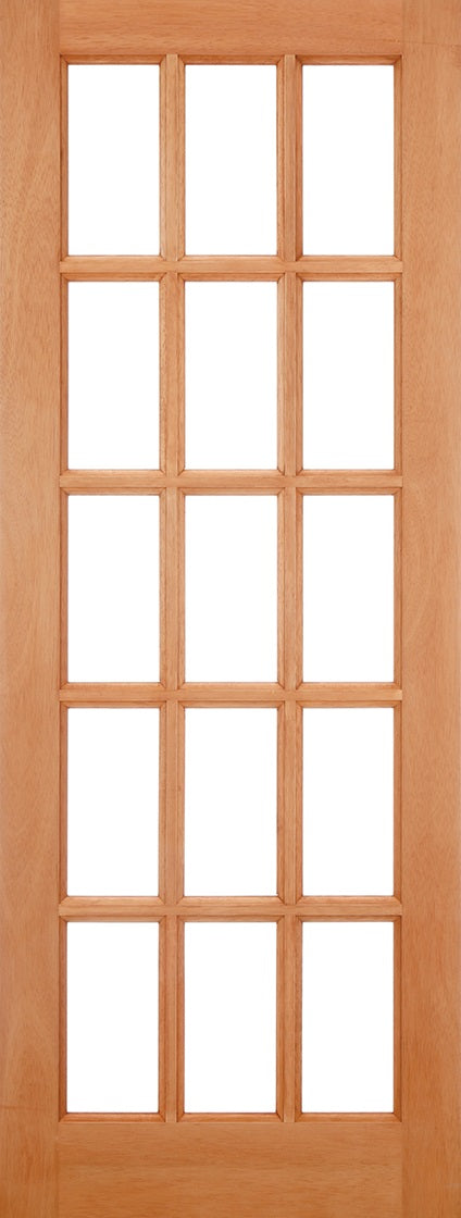SA77 External Hardwood, frosted Glass,Double Glazed