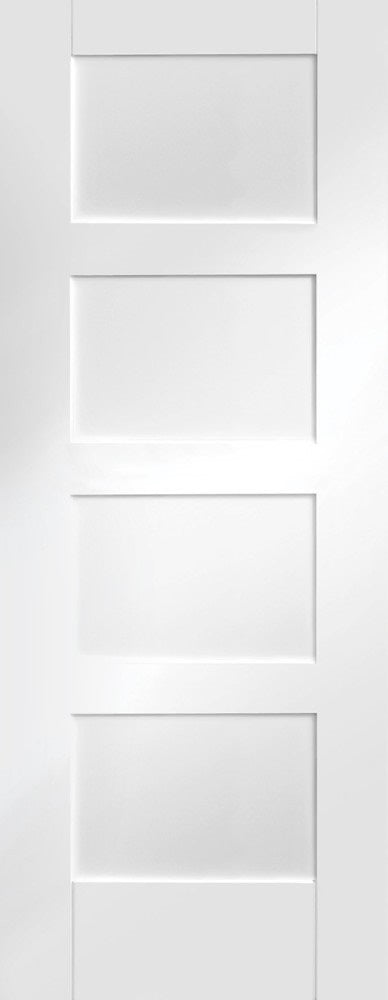 Idaho 3 Panel White Primed Fire Door
