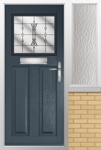 Sterling External composite doorset and side window