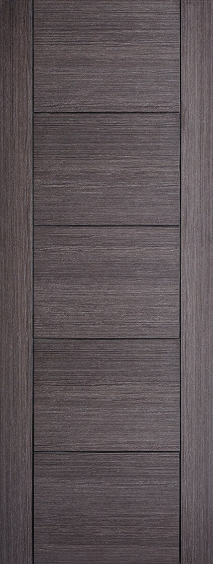 Vancouver ash grey prefinished fire door.