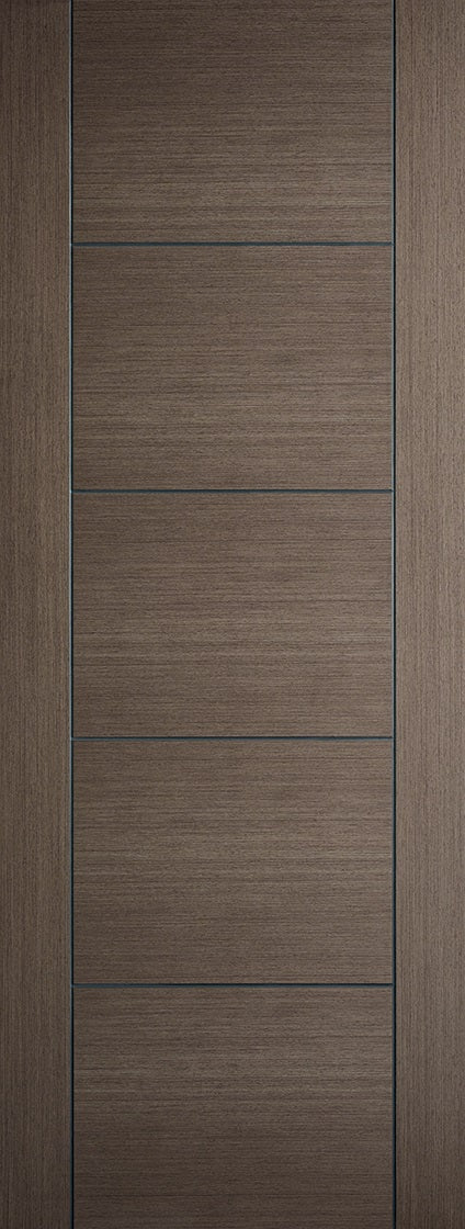 Vancouver chocolate grey fire door