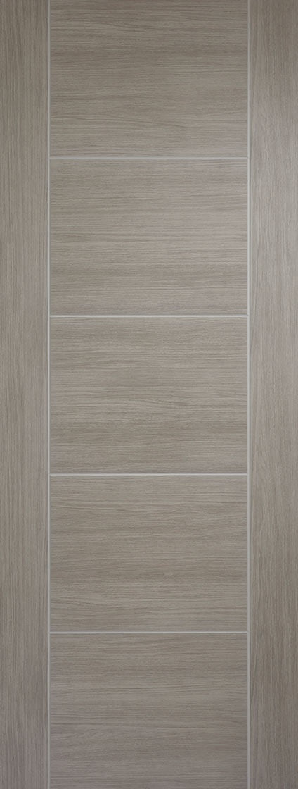 Vancouver light grey laminate internal door.