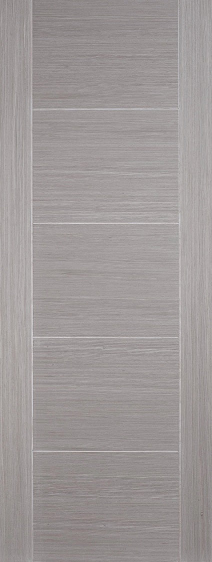 Santandor Light Grey Internal Door Laminate
