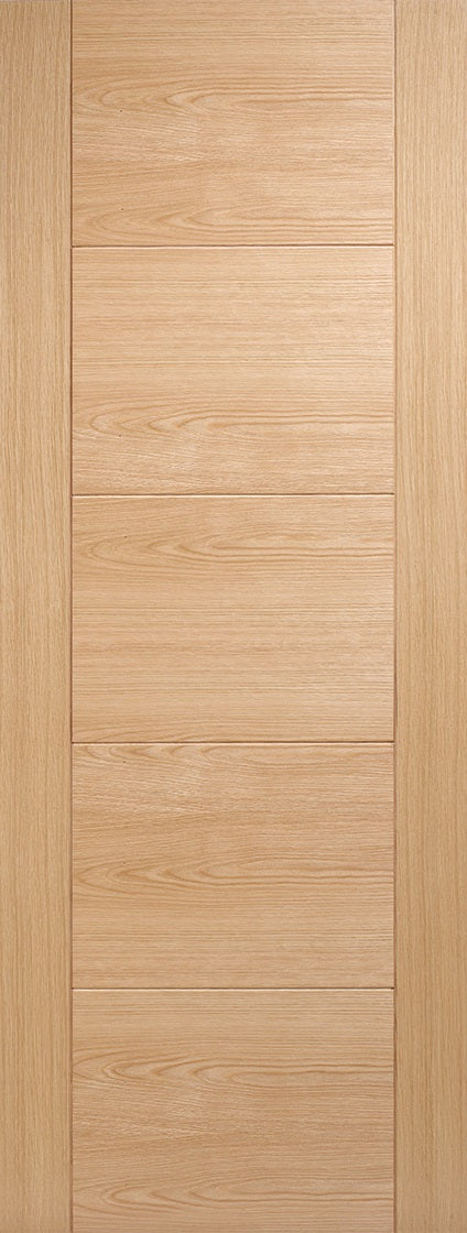 London 4 Flat Panel Oak Unfinished