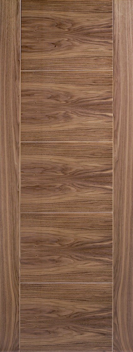 Vancouver walnut fire door