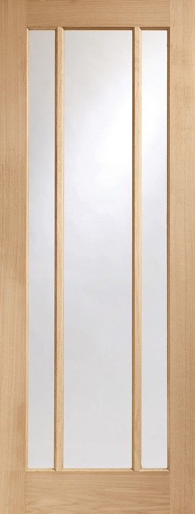 Amsterdam 3 Panel White Primed Fire Door