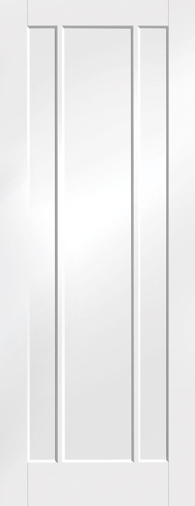 Contemporary Shaker 4 Panel White Primed