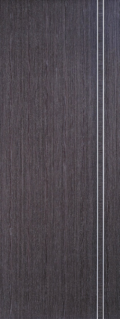 Vancouver Ash Grey Prefinished Fire Door