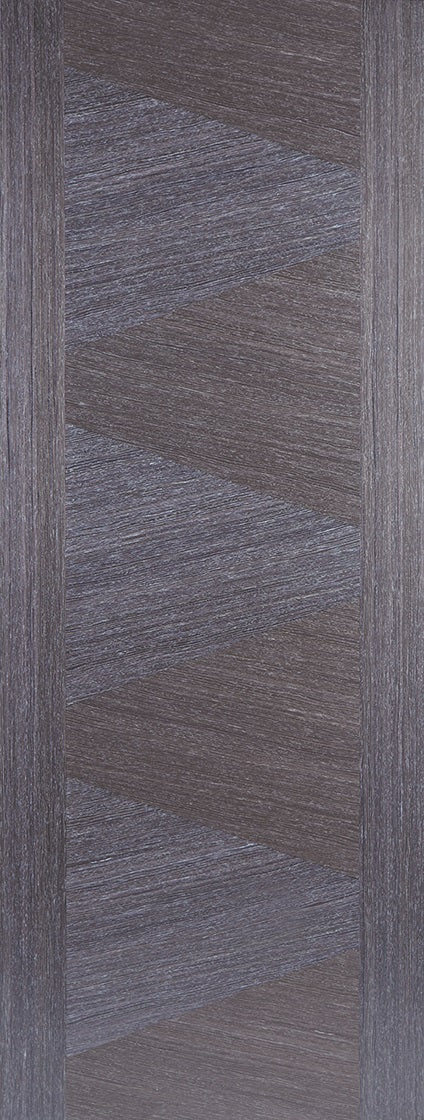 Alcaraz Chocolate Grey Prefinished Fire Door