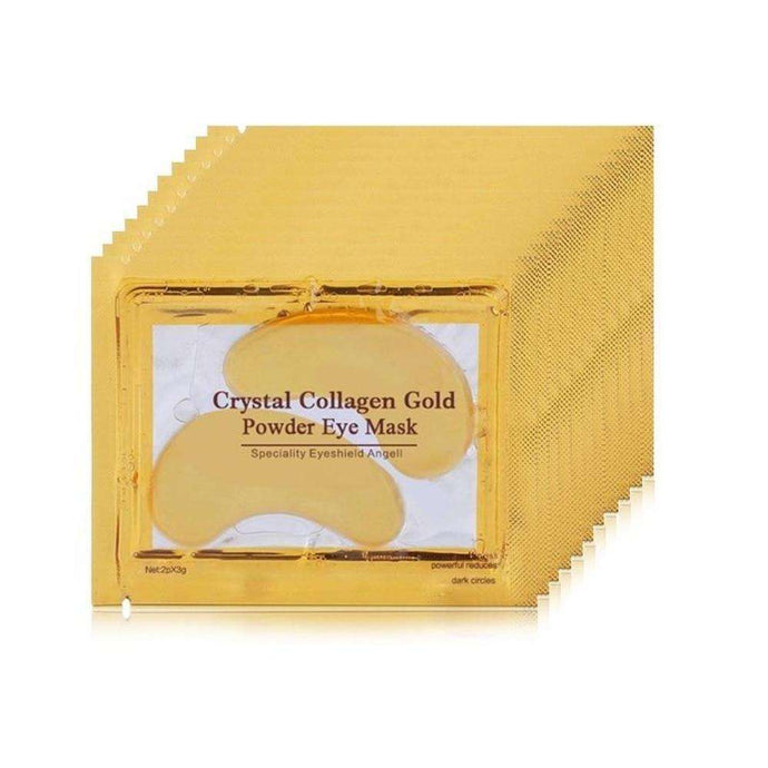 10-Piece 24k Gold Eye Gels | JV Outlets