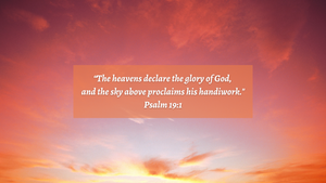The Glory of God Revealed for You, a Bible Study Media Devotional